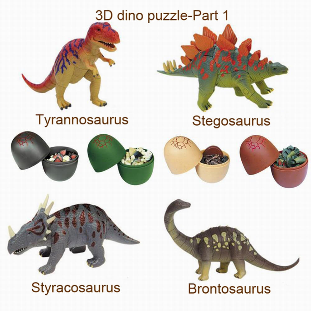 dinosaur egg toy instructions