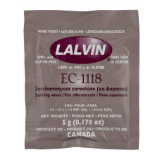 lalvin yeast ec 1118 instructions
