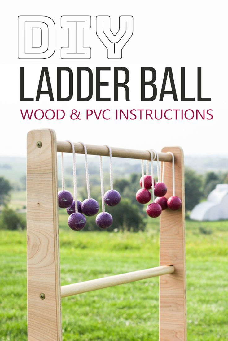 ladder ball instructions build