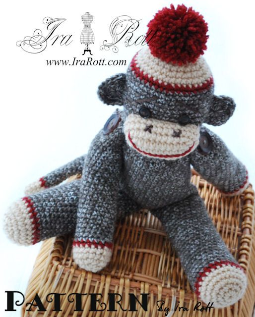 sock monkey instructions pdf