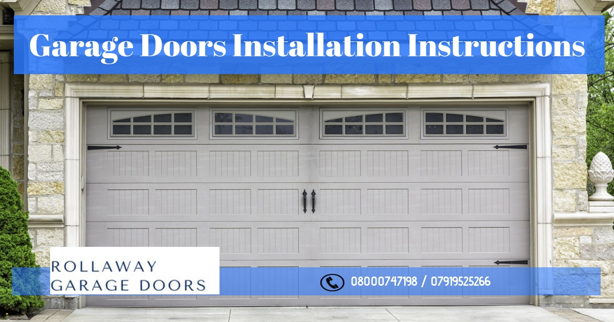 garage door extension spring installation instructions