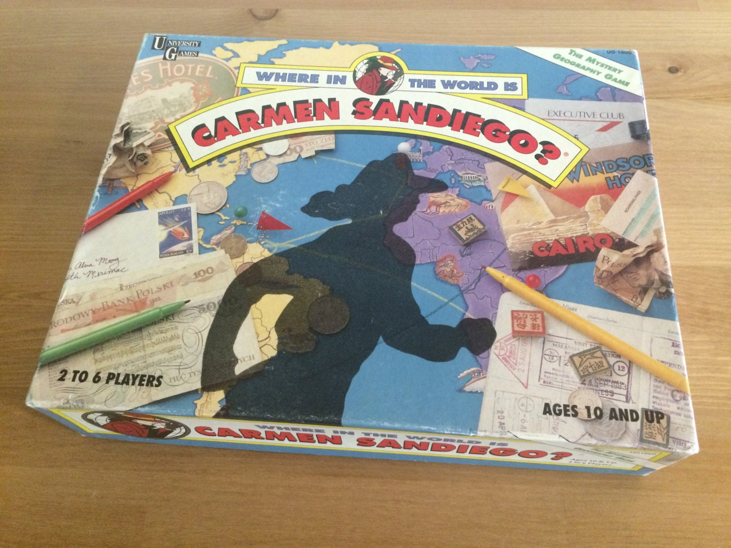 where in the world is carmen sandiego board game instructions