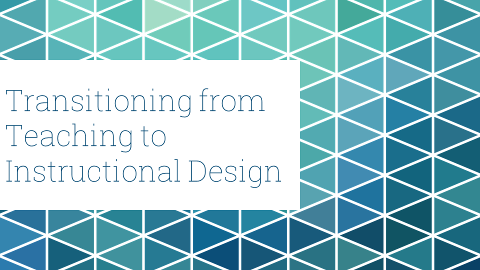 what is instructional design in teaching