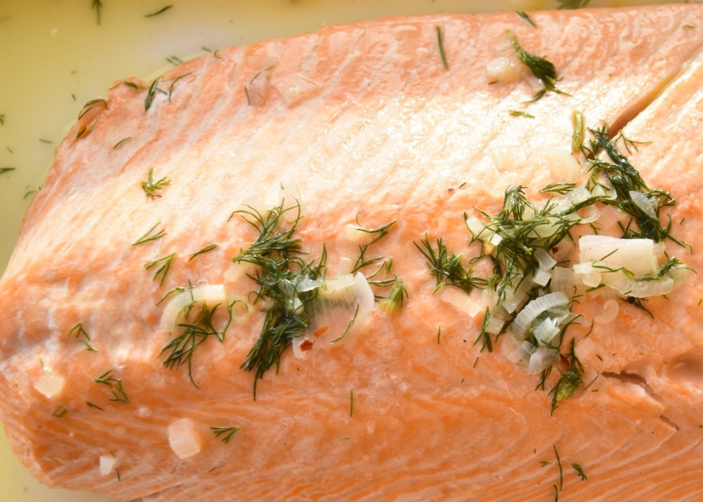 costco salmon with pesto butter cooking instructions