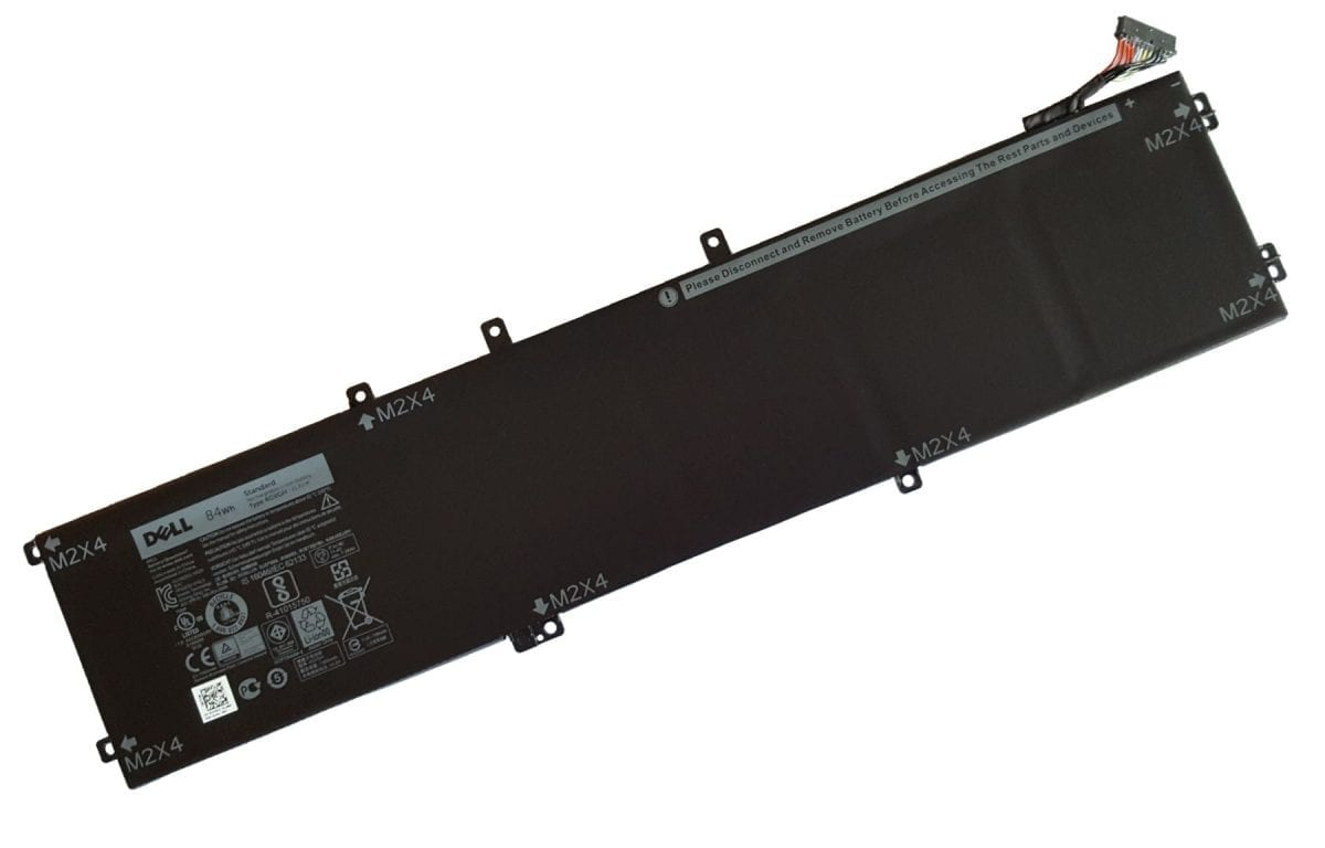 dell 9550 battery replacement instructions