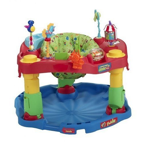 evenflo exersaucer mega circus instructions