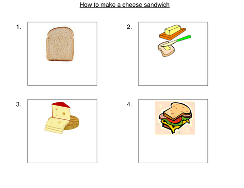 how to make a cheese sandwich instructions