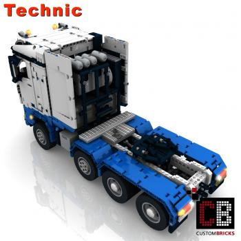 lego rc truck instructions