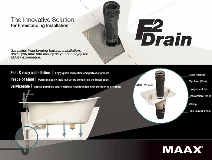 maax shower kit installation instructions