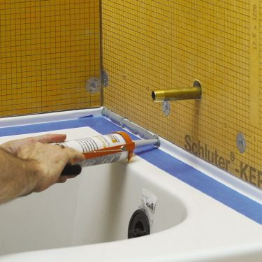 schluter kerdi board installation instructions